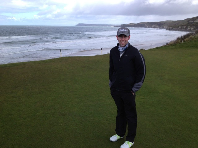No. 5 green at Royal Portrush