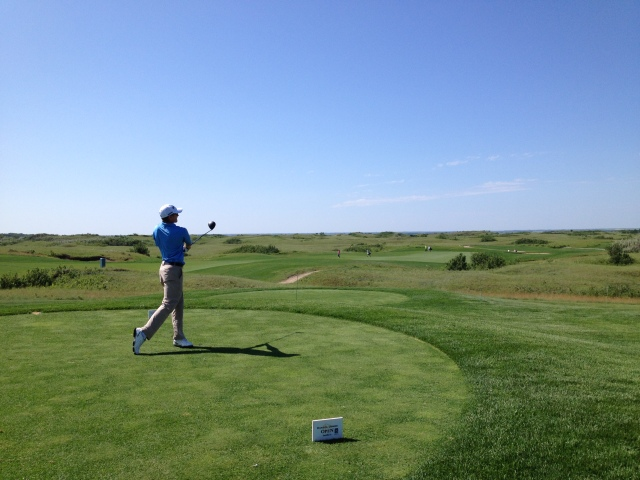 Mackenzie Hughes at the Dakota Dunes Open