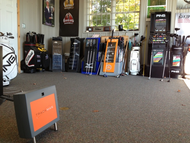 Custom fitting at Rideau View